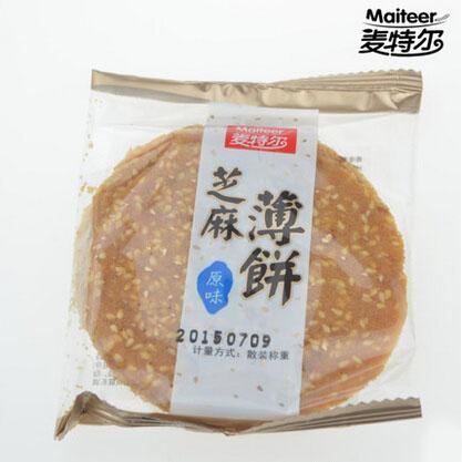 亚星麦特尔芝麻薄饼  散称 每份大约半斤250G