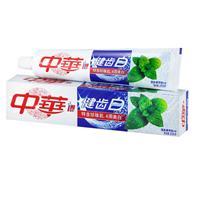 200g中华健齿白清新薄荷味牙膏